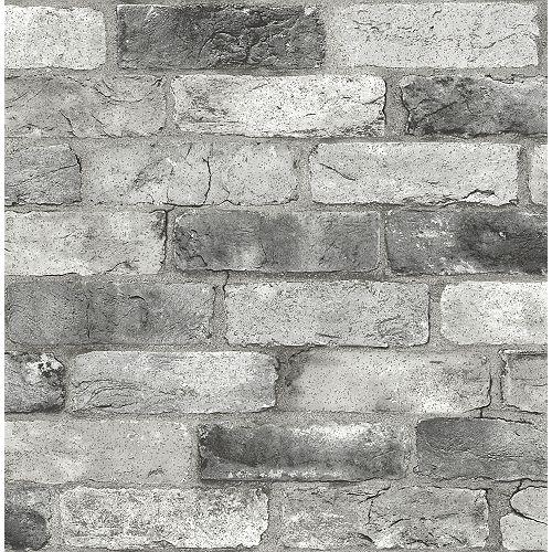 Brique de Londres grise Autocollant