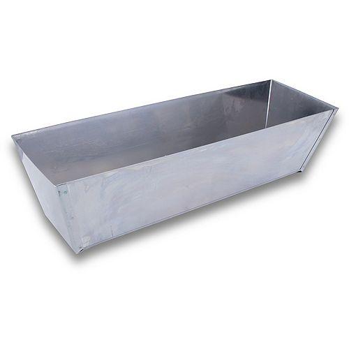 "Mud Pan 12"" Inoxydable"