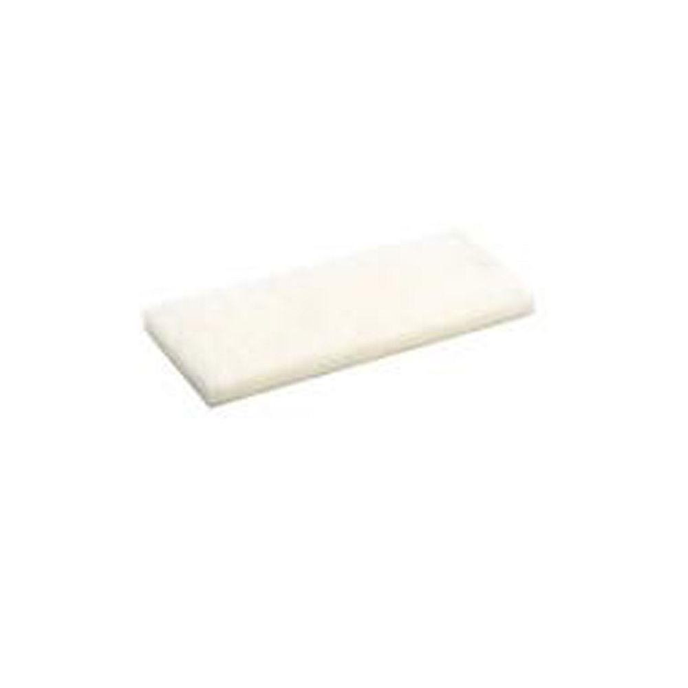 Marshalltown Flotteur Scrub, Remplacement Blanc 10x4 1/2