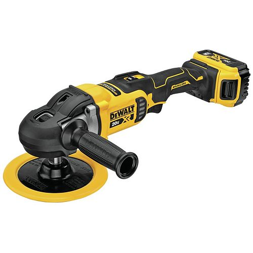 DeWalt 20V MAX XR® 7-INCH (180MM) Cordless Variable Speed Rotary Polisher Kit