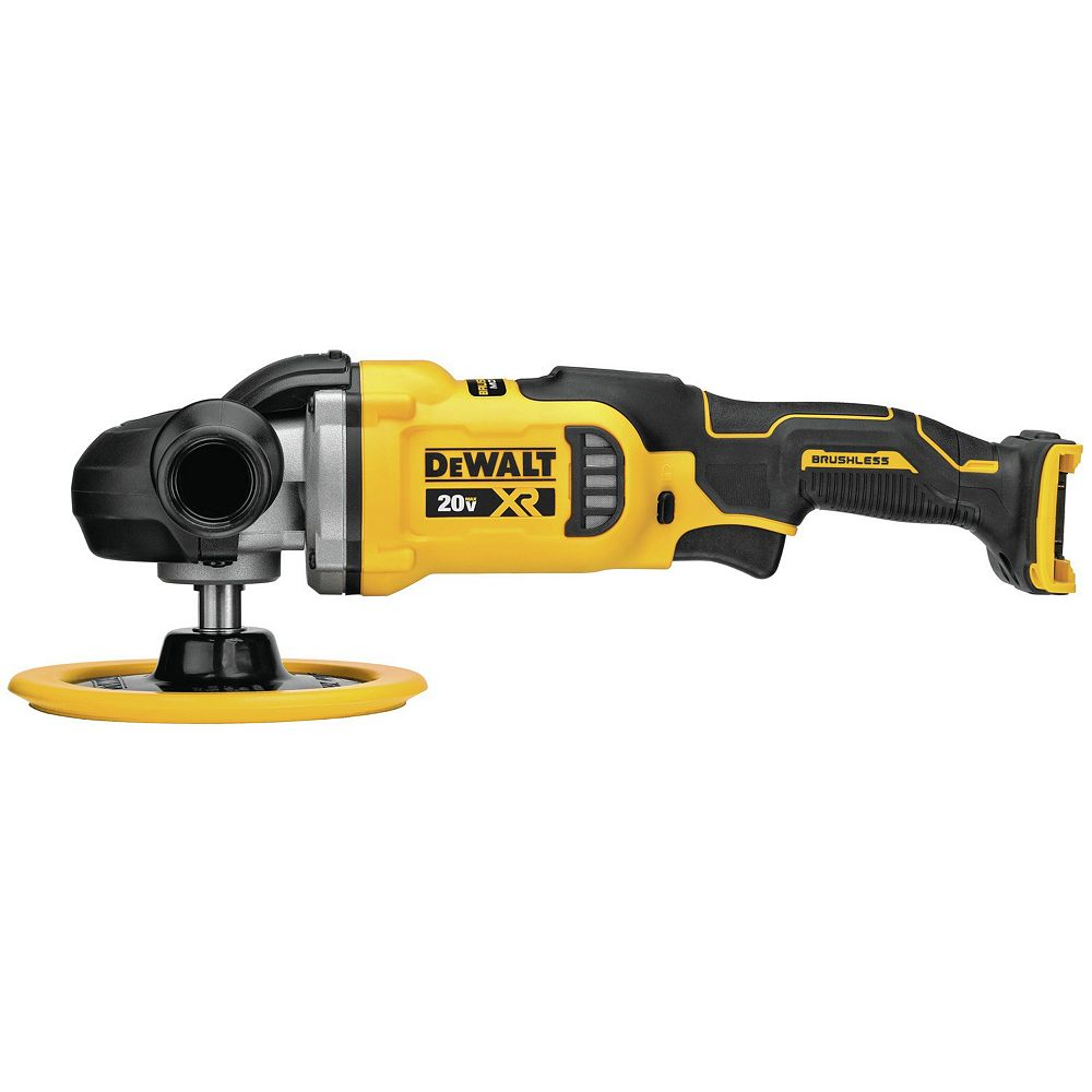 DEWALT DeWalt 20V MAX XR 7-INCH (180MM) Cordless Variable Speed Rotary Polisher (Tool Only)