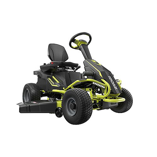 38-inch 100 Ah Battery Electric Rear Engine Riding Lawn Mower