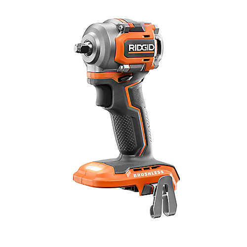 18V Brushless Sub-Compact Cordless 3/8 -inch Impact Wrench (Tool-Only) with Belt Clip