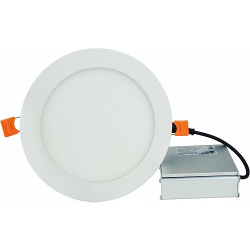 6-inch W White Color Pot Light
