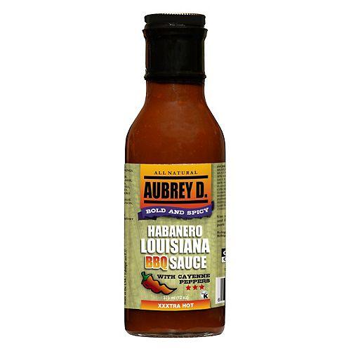 Habanero Louisiana BBQ Sauce