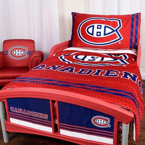 Montreal Canadiens 3-Piece Toddler Bedding Set