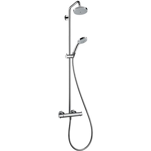 Croma Showerpipe 150 1-Spary in Chrome