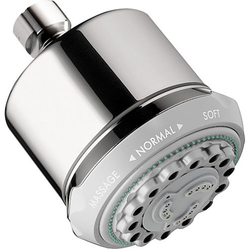 Hansgrohe Clubmaster Shower Head 3-Spray in Chrome
