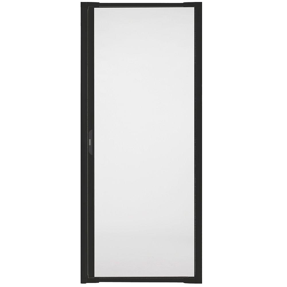 Andersen Luminaire Retractable Screen for Single Doors 32-inch to 36 inch Wide in Black