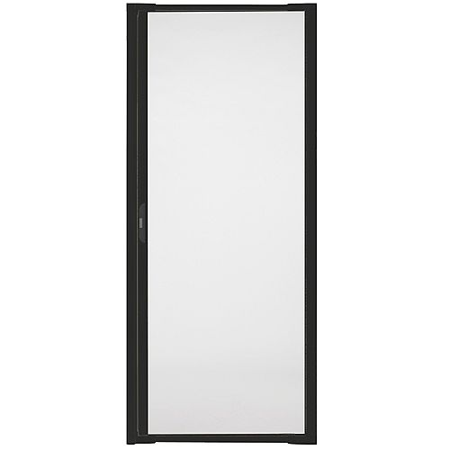 Luminaire Retractable Screen for Single Doors 32-inch to 36 inch Wide in Black