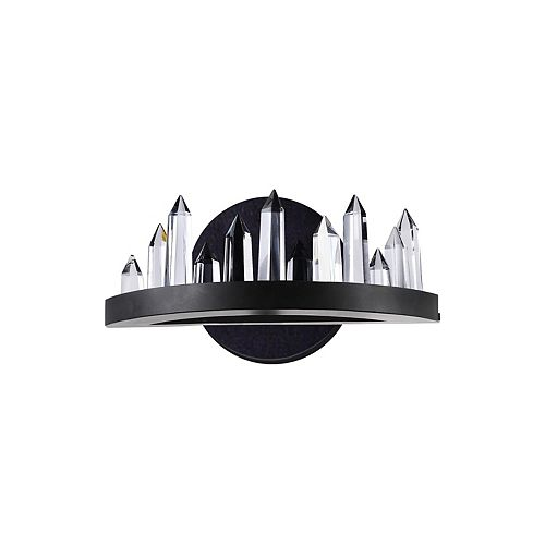 CWI Lighting Juliette 12-in LED Wall Sconce with Black Finish