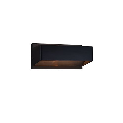 Lilliana 12-in LED Wall Sconce with Black Finish