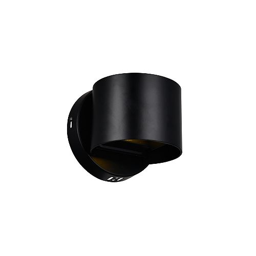 Lilliana 5-inch LED Wall Sconce with Black Finish