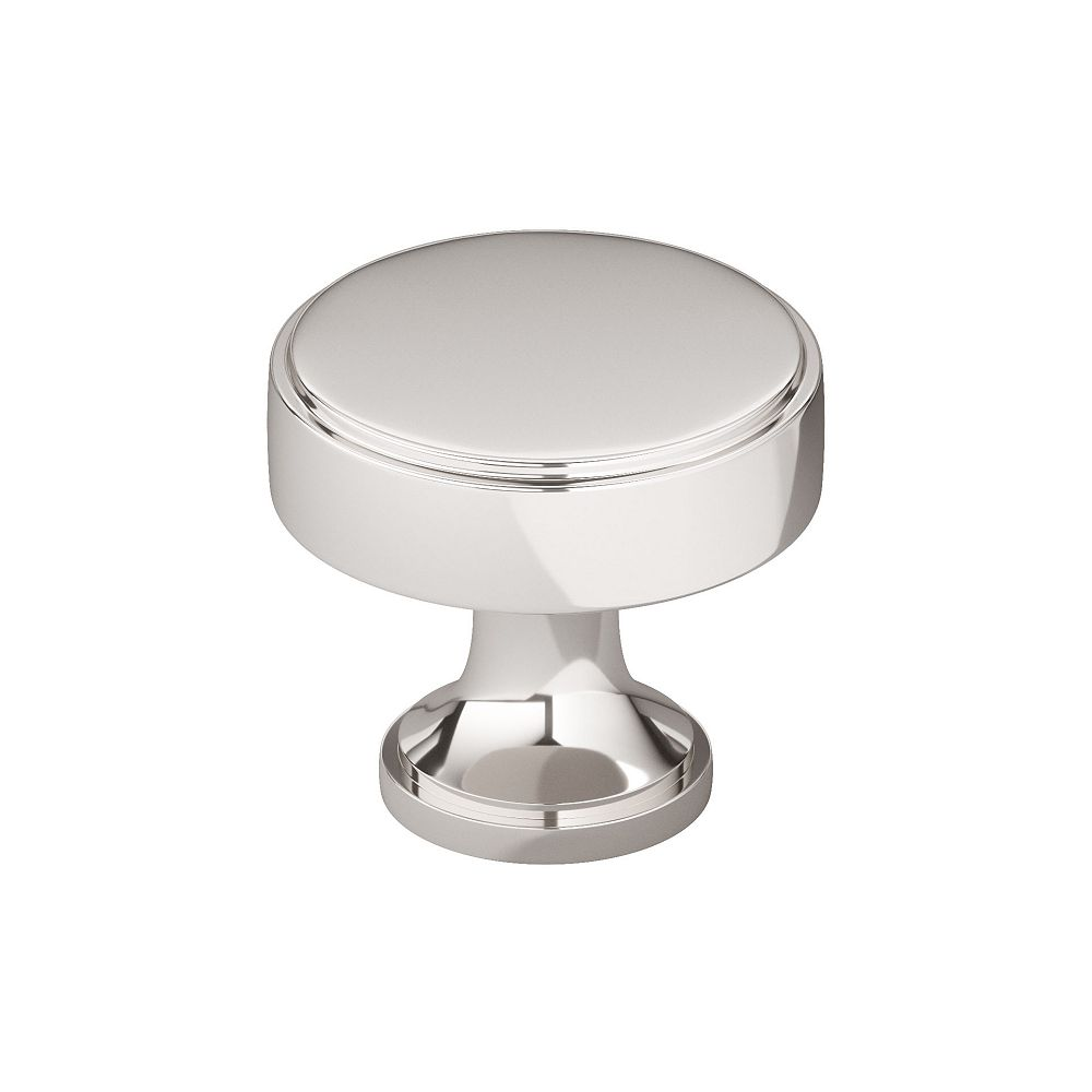 Richelieu Collection Portici Bouton Transitionnel Nickel poli 31/32 po (25 mm)