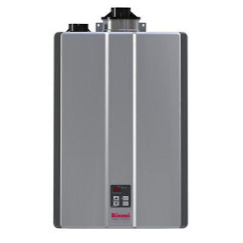 RUR160iN Super High Efficiency Plus NG condensing tankless water heater - 160,000 BTU
