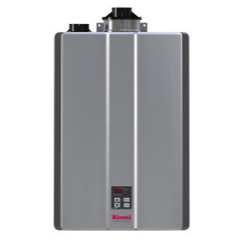 SENSEI(TM) RUR199iN Super High Efficiency Plus NG condensing tankless water heater from Rinnai