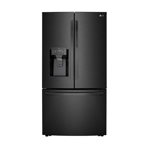 36-inch W 30 cu. ft. French Door Smart Refrigerator with Door-in-Door® and Wi-Fi in Matte Black Stainless Steel - ENERGY STAR®