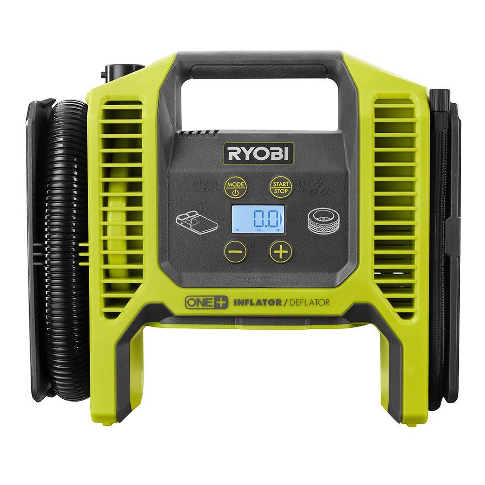 Ryobi P747 18V ONE+ Dual Function Cordless Inflator/Deflator (Tool Only)