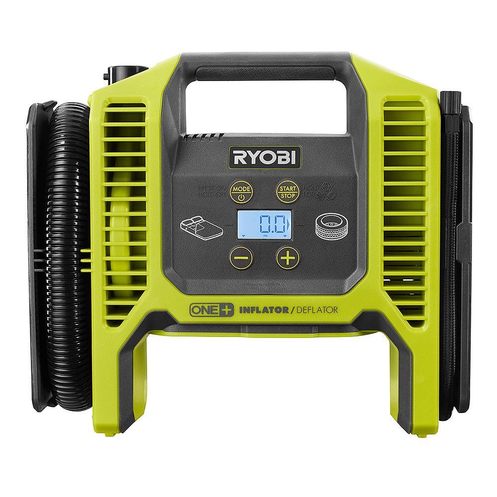 RYOBI 18V ONE+ Dual Function Cordless Inflator/Deflator (Tool Only)