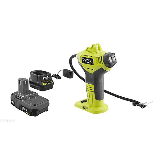 18V Power Inflator Kit with 1.5 Ah Battery and Charger