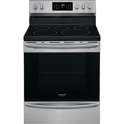 30-inch 5.4 cu. ft. Freestanding Electric Range in Smudge-Proof® Stainless Steel