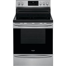 30-inch 5.7 cu. ft. Freestanding Electric Range with Air Fry in Smudge-Proof® Stainless Steel