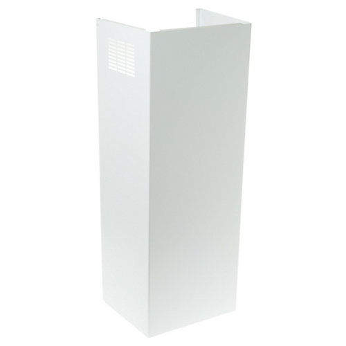 Duct Cover Extension Kit in Matte White