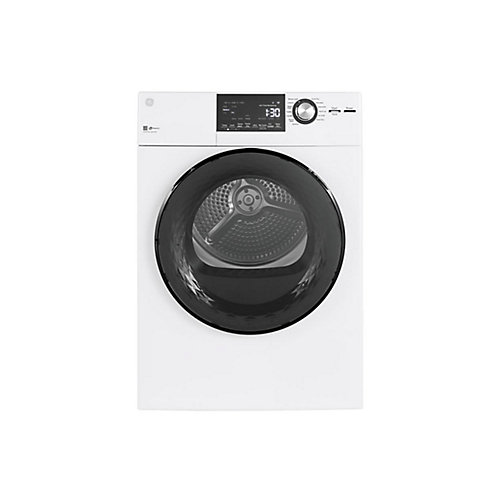 Vented Dryer 4.1 cu.ft. Stainless Steel Drum - White