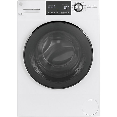 Energy Star 2.8 cu.ft. Stainless Steel Drum Frontload Washer - White