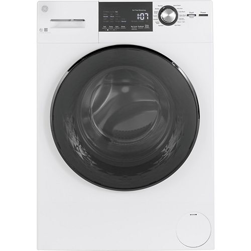 2.8 cu.ft. Stainless Steel Drum Frontload Washer in White - Energy Star