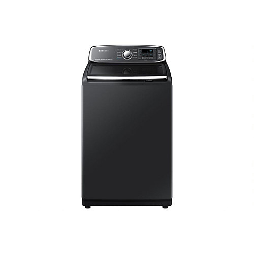 6.0 cu.ft. High-Efficiency Top Load Washer with Steam in Black Stainless Steel - ENERGY STAR®