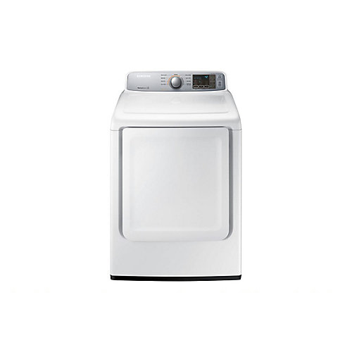 7.4 cu.ft. Electric Dryer with Sensor Dry in White - ENERGY STAR®
