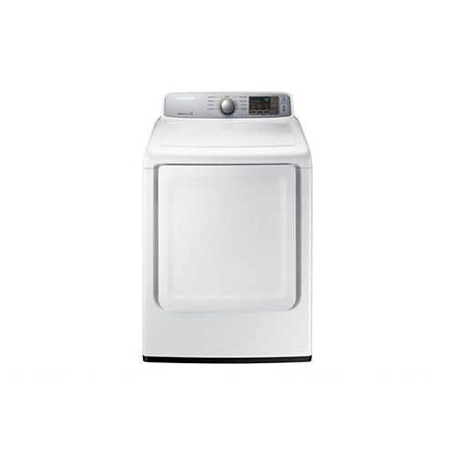Samsung 7.4 cu.ft. Electric Dryer with Sensor Dry in White - ENERGY STAR®