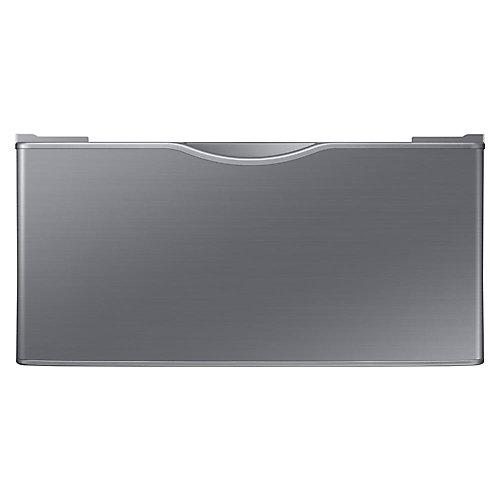 14.2-inch Platinum Laundry Pedestal with Storage Drawer