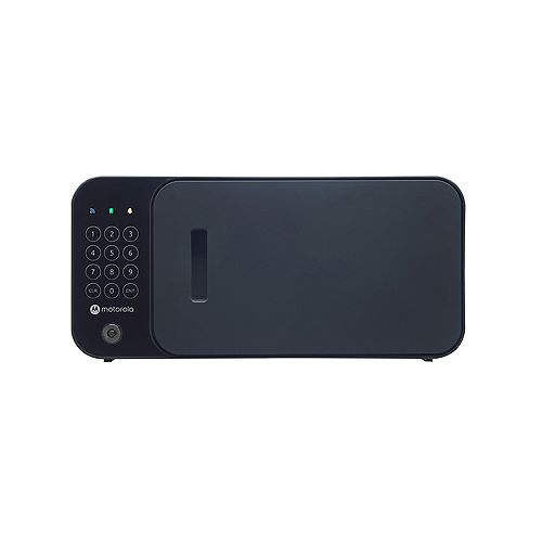 Bolt WiFi Smart Safe with Remote Open Security Monitoring and Siren - Black