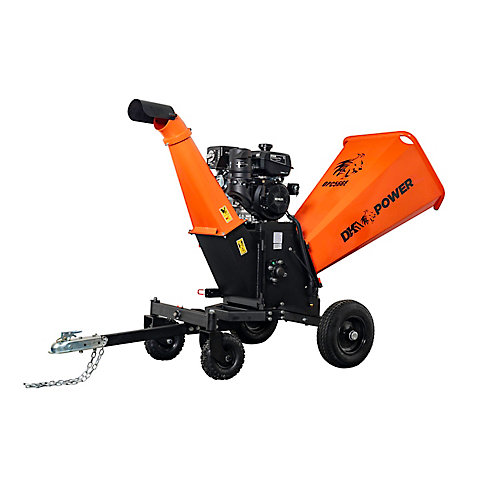 6in Kinetic Chipper Shredder with Electric Start