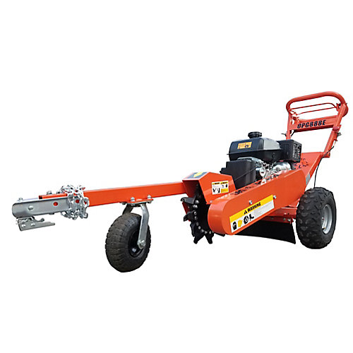 Stump grinder 14hp 14 in electric start commercial cutter