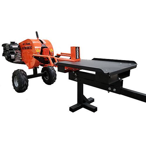40 ton kinectic 1 sec log splitter