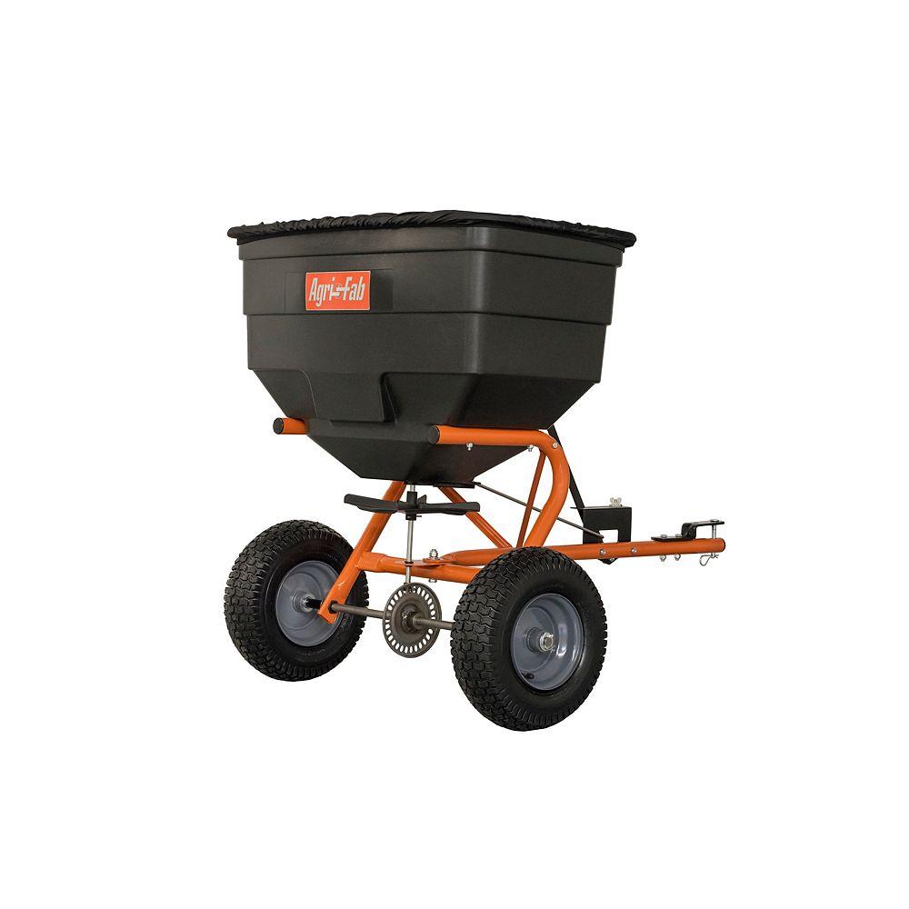 Agri-Fab 185 lb. Lawn & Garden Tow Fertilizer Spreader Covers 40,000 sq. ft.