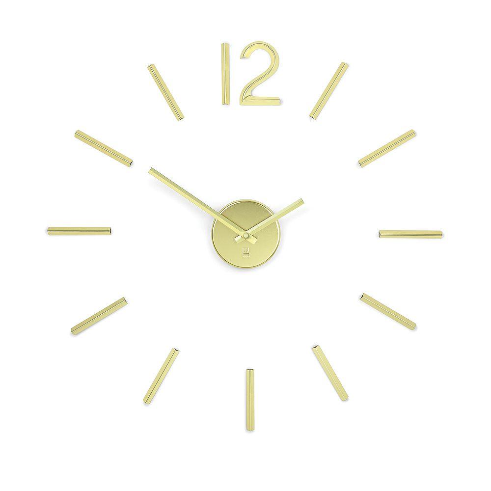 Umbra Blink Clock Gold
