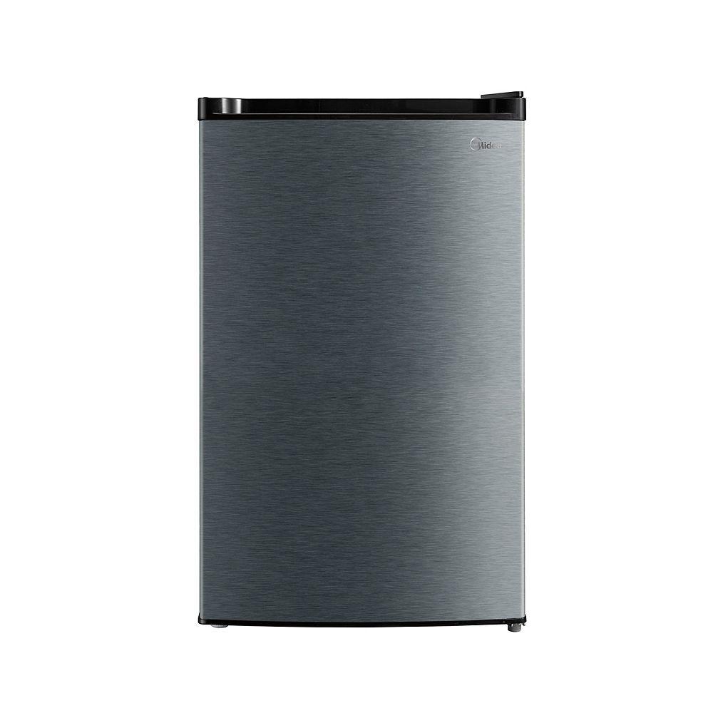 Midea 4.4 cu. ft. Compact Fridge with freezer compartment