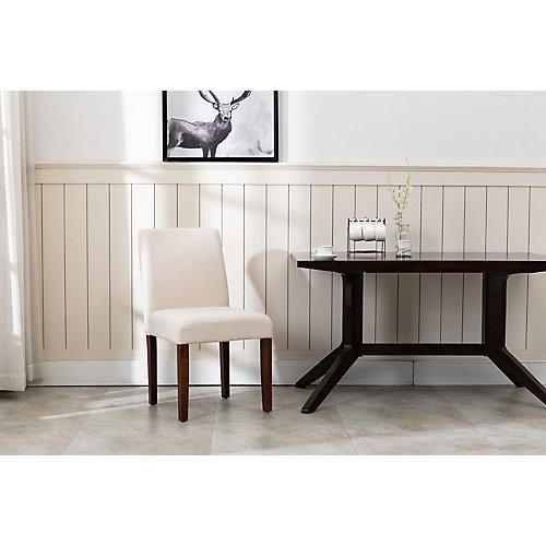 Beige Linen Dining Chair (2-pack)