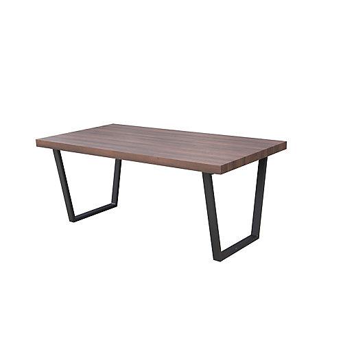 Table à manger Nico en noyer - 70,8 L x 35W