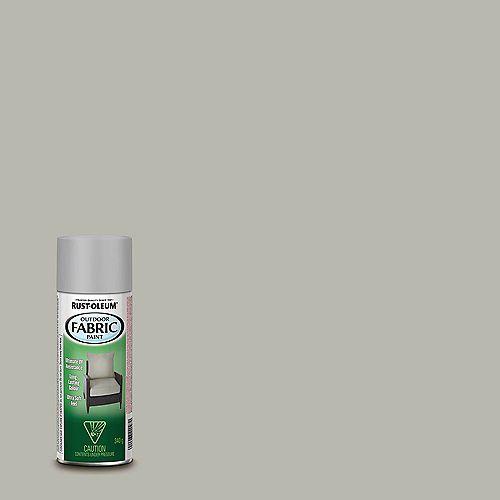 Outdoor Fabric Spray Paint in Medium Grey, 340 G Aerosol