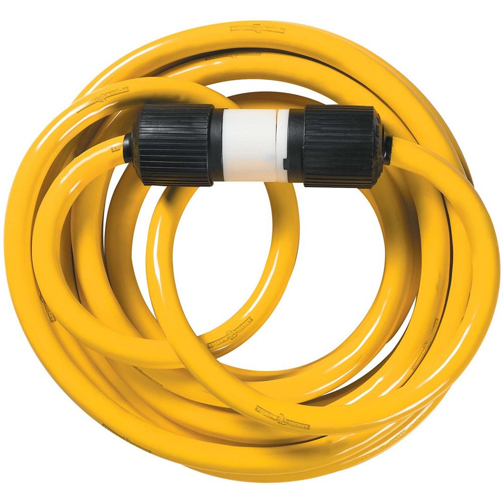 Southwire 10/4 STW 25 ft. 30A Yellow Jacket Generator Cord