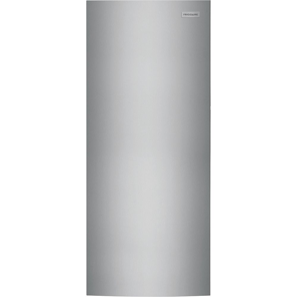 Frigidaire 15.5 cu. ft. Upright Freezer in Brushed Steel