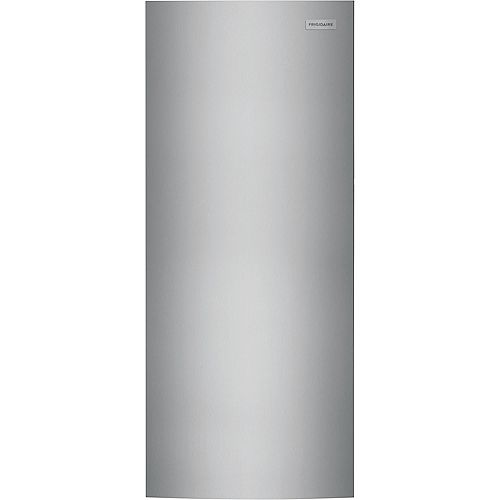 15.5 cu. ft. Upright Freezer in Brushed Steel