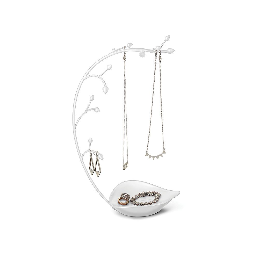 Umbra Orchid Jewelry Stand White