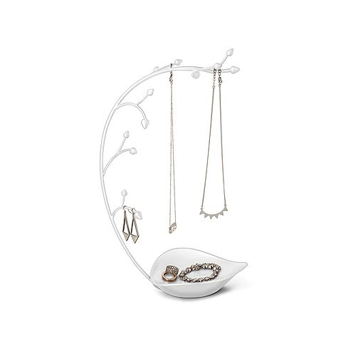 Orchid Jewelry Stand White
