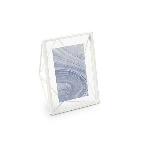 Prisma 4x6 affichage de photo Blanc